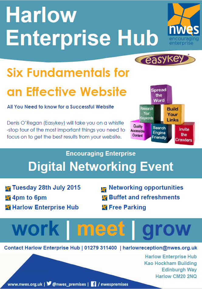 Free Digital Networking Event in Harlow
