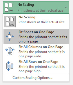how to make worksheets print on one page excel 2007 excel printing tipshow to set print area. Black Bedroom Furniture Sets. Home Design Ideas