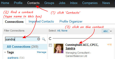 LinkedIn Contact Search