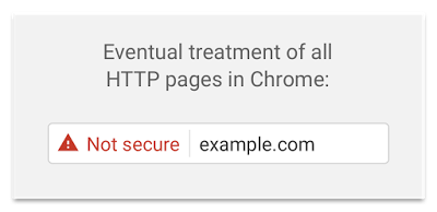 How Google will treat all HTTP pages in Chrome