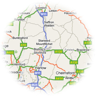 Hertfordshire, Essex, Cambridgeshire and London areas