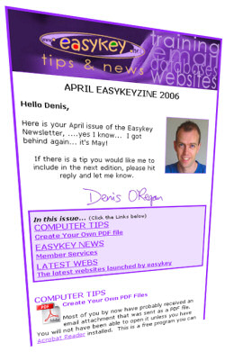 Example Ezine - created by Easymailer