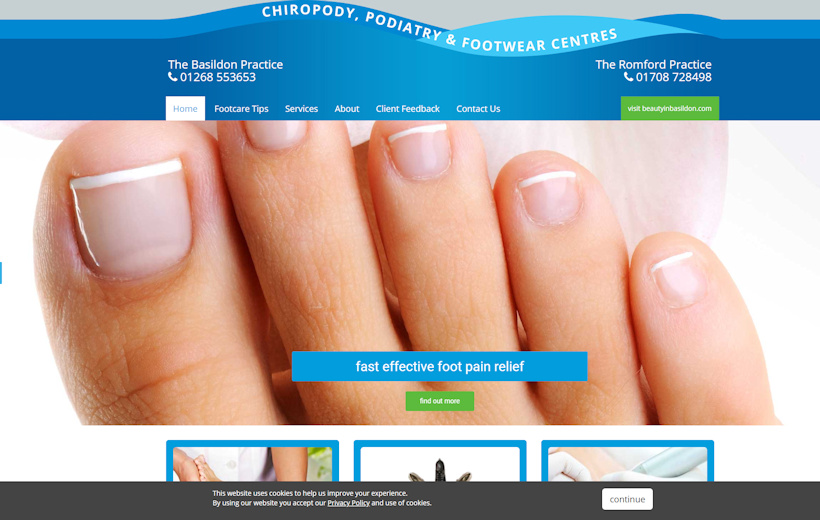 Chiropody and Podiatry - Basildon and Romford