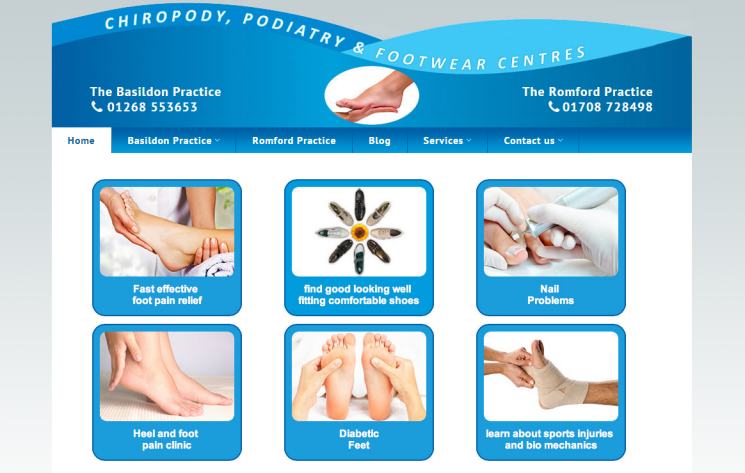Chiropody - Basildon and Romford