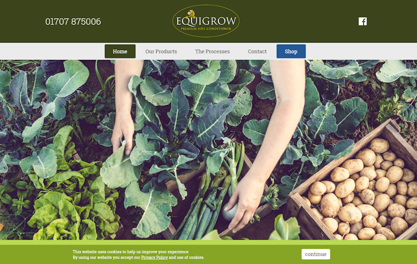 Equigrow soil conditioners and compost