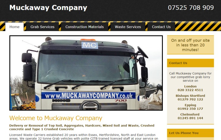 Muckaway Company - Waste Removal and Grab Lorry Services