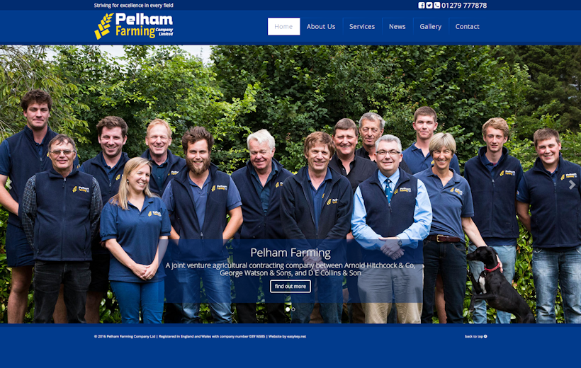 Pelham Farming | Agricultural contracting | Arable contracting | Combining | Cultivations | Drilling
