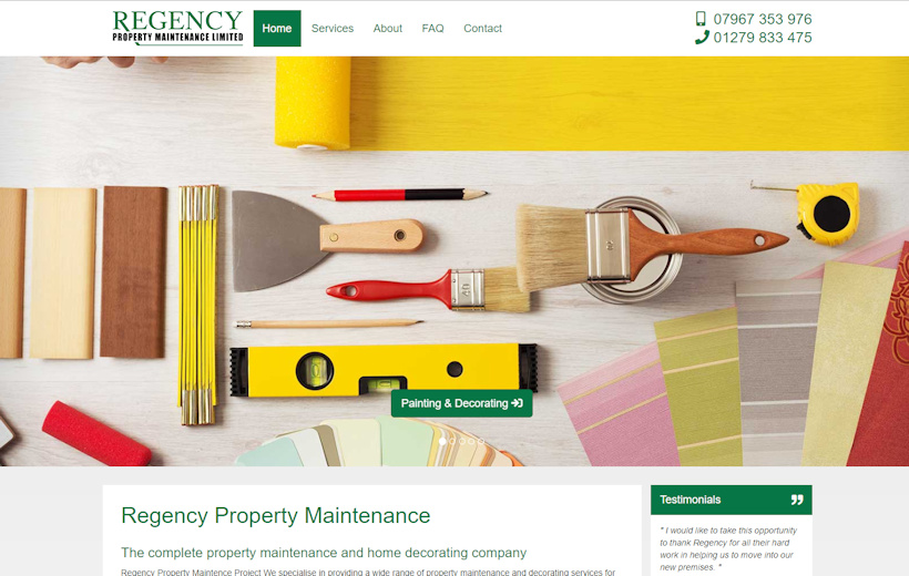 Regency Property Maintenance - Decorators and Builders