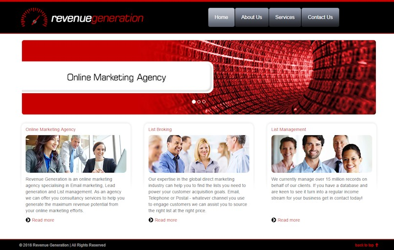 Revenue Generation - Online Marketing Agency