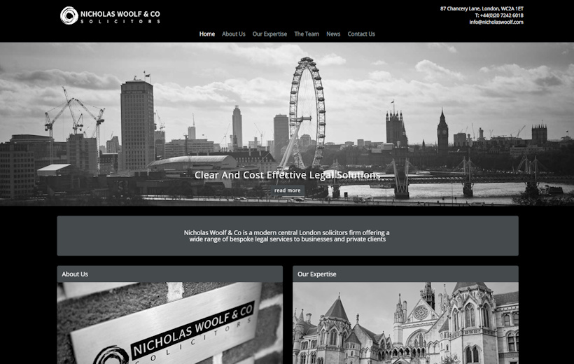 Nicholas Woolf & Co - London Firm of Solicitors