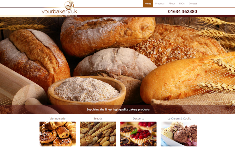 JF Distribution offer the complete logistics to supply Breads, Viennoiserie, Desserts, Afternoon Teas and Icecreams to trade