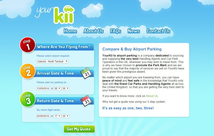 Yourkii - Airport Parking